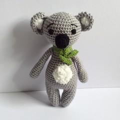 Koala, crochet, Amigurumi, toy, gift, baby, children, animal, zoo