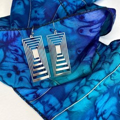 Antipodes stainless steel earrings