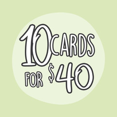 10 Greeting Card Value Pack