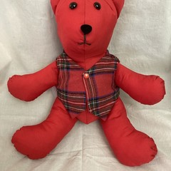 Memory Bear with Vest