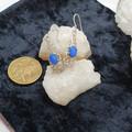 Fabulous Handmade Filigree Opal Dangle Earrings.