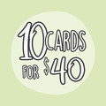 6 Greeting Card Value Pack