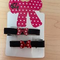 Clip Set with Embellishments