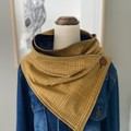 Handmade Wrap Scarf made from French Terry fabric
