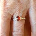 Australian Garnet 925 Sterling Silver Ring