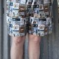 """Love Fishing""-Adults Shorts"