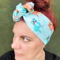 Smiling Staffy Boho Wire Headband, Wire Headscarf, Twist Headband