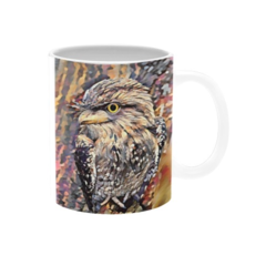 Tawny Frogmouth Mug (11OZ), Price Includes Delivery
