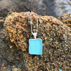 Beachbox Sea Glass Pendant