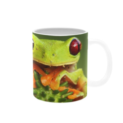 Close-Up Frog. Mug. Price Includes Delivery