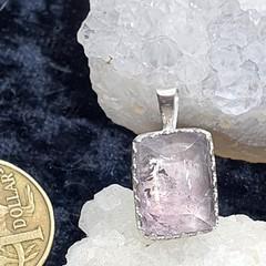 Stunning Amethyst Sterling Silver Pendant