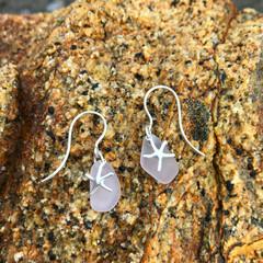 Rockpool Purple Sea Star Earrings