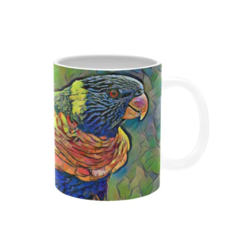 Rainbows In My Garden. Coffee Cup. Free Delivery