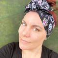 Sugar Skull Cat Skeleton Boho Wire Headband, Wire Headscarf, Twist Headband