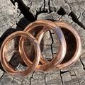 Rose Gold Band- stunning everyday or wedding ring