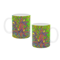 Queen Of Sheba Native Orchid mug. Price includes delivery