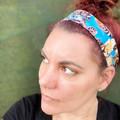 Butterfly Boho Wire Headband, Wire Headscarf, Twist Headband
