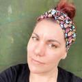 Colourful Feather Boho Wire Headband, Wire Headscarf, Twist Headband