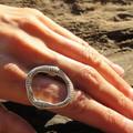 Wonky Silver Ring
