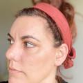 Rust Boho Wire Headband, Wire Headscarf, Twist Headband