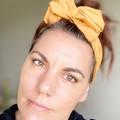 Mustard Boho Wire Headband, Wire Headscarf, Twist Headband
