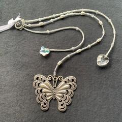 Beaded wedding keepsake - butterfly