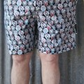 """""""Sheep Dressed for Winter""""-Adults Shorts"""