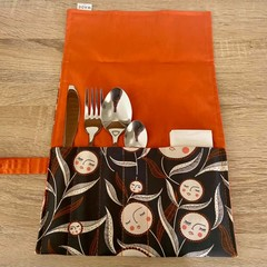 Handmade Fabric Cutlery Holder