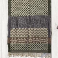 Silk and Wool Jacquard Unique Design Shawl by Sen Saish #26
