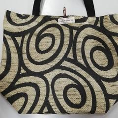Supermarket Shopping Bag - Swirl
