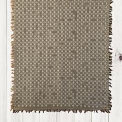 Unique Design Wool Jacquard Shawl with Fringe by Sen Saish #22