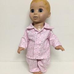Dolls  Pajamas to fit   Luvabella dolls