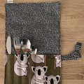 Handmade Fabric Cutlery Holder