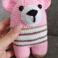 Teddy Bear Softies, Handmade Crochet Teddies, Teddy Amigurumi, Soft Teddies