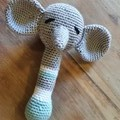 Handmade Crochet Rattles for Kids, Soft Toys, Kids Animal Soft Toys, Amigurumi