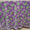 Fleece Baby Blanket - Frogs!
