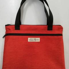 Ipad/Tablet Bag – Handbag – Deep Orange/Red