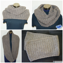Outlander inspired, super long and soft infinity scarf - FREE SHIPPING