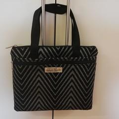 Ipad/Tablet Bag – Handbag – Black Diagonal