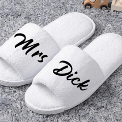 Personalised Guest Slippers