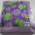 Fleece Baby Blanket - Frogs!