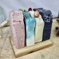 Activated Charcoal , Tea Tree & Lavender Soap