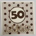 Happy 50 th Birthday Card