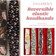 Children's elastic headband - reversible