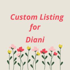 Custom Listing for Daini
