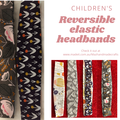 Children's elastic headband - reversible