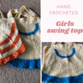Hand crochet swing top