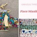 Organic cotton face masks