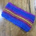 Self striping 100% wool headbands