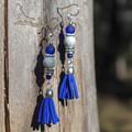 Royal Blue Cindy Earrings